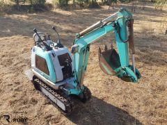 Mini-Giratória / Escavadora Kobelco SS1