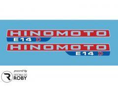 Autocolantes Hinomoto E14D
