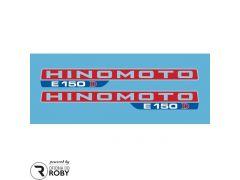 Autocolantes Hinomoto E150D