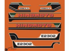 Autocolantes Hinomoto