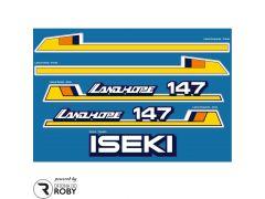 Autocolantes Iseki Landhope 147