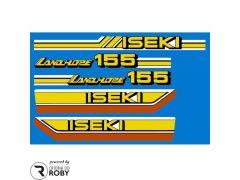 Autocolantes Iseki LANDHOPE 155