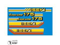 Autocolantes Iseki Landhope 175