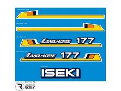 Autocolantes Iseki Landhope 177
