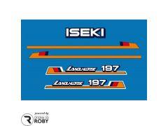 Autocolantes Iseki Landhope 197