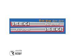 Autocolantes Iseki TL1901