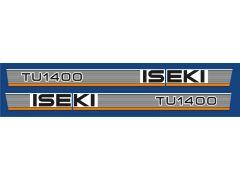 Autocolantes Iseki