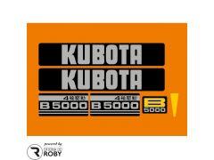 Autocolantes Kubota B5000