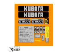 Autocolantes Kubota B5001