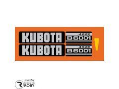 Autocolantes Kubota B6001