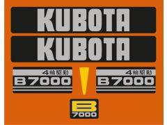 Autocolantes B7000