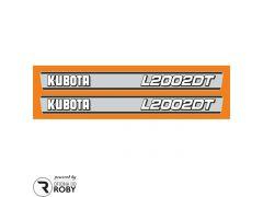 Autocolantes Kubota L2002DT