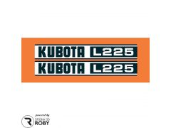 Autocolantes Kubota L225