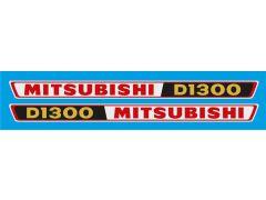 Autocolante Mitsubishi