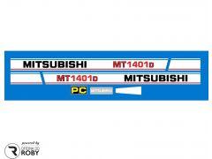 Autocolantes Mitsubishi MT1401