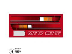 Autocolantes Mitsubishi MT17