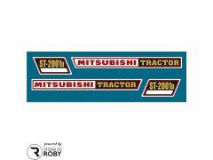Autocolantes Mitsubishi