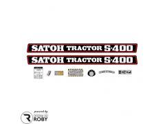 Autocolantes Satoh S400