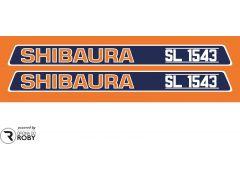 Autocolantes Shibaura SL1543