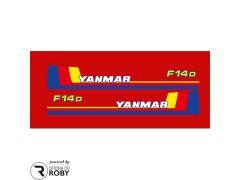 Autocolantes Yanmar F14D