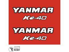Autocolantes Yanmar Ke-40