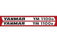 Autocolantes Yanmar YM1100D